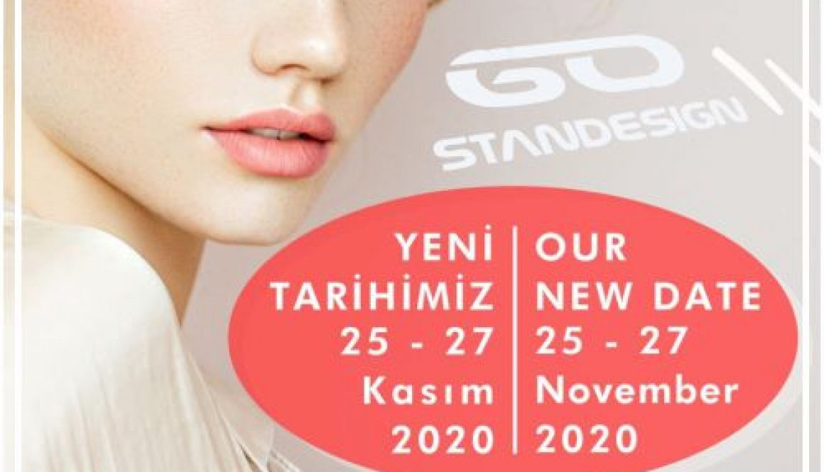 Beauty Eurasia 2020 Istanbul Exhibition Banner Stand GOSTANDESIGN