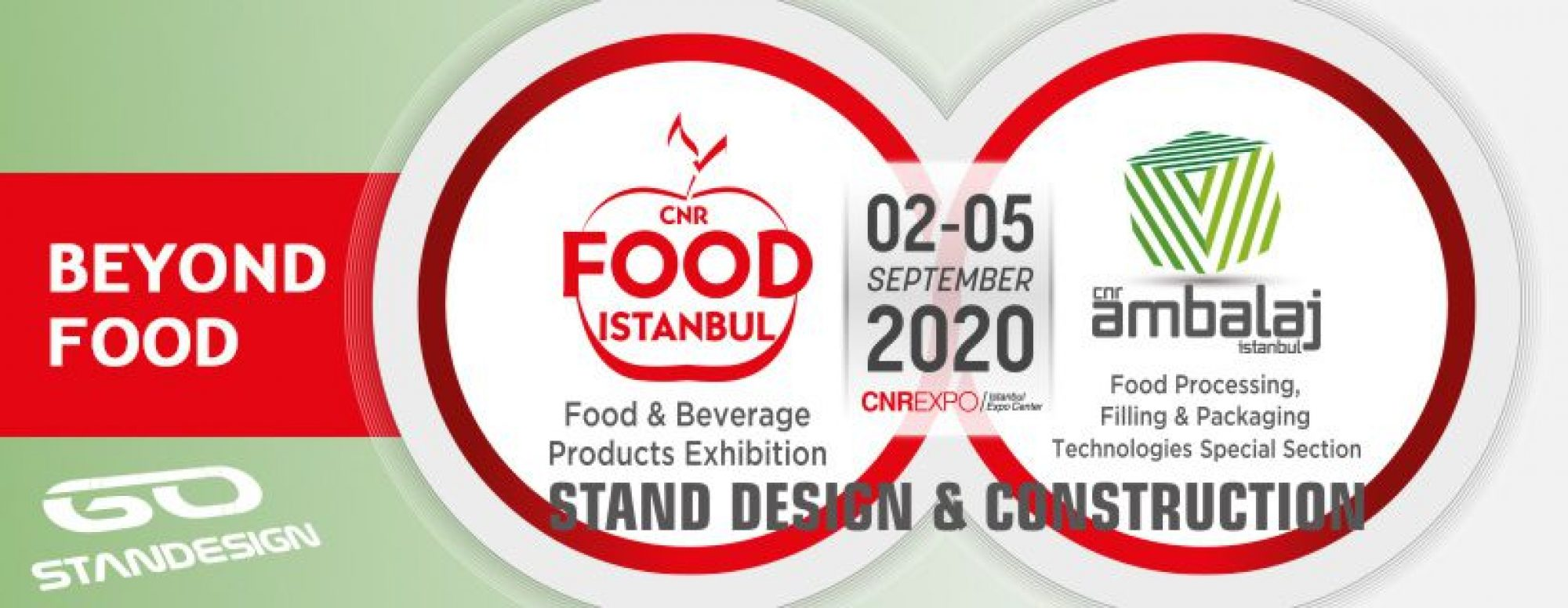 Food Istanbul 2020 Exhibition Hero