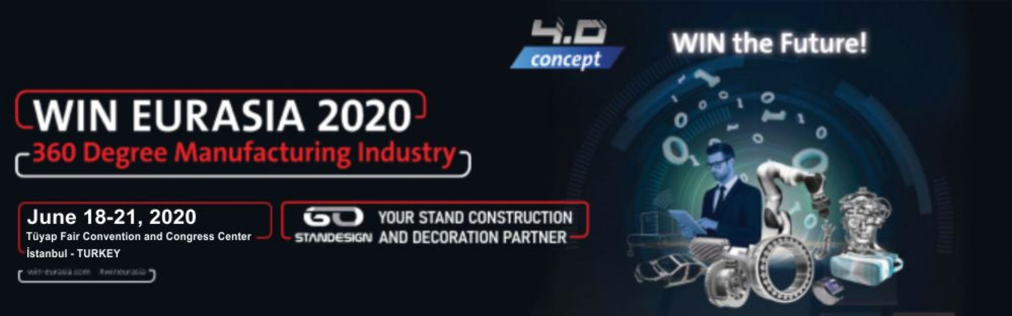 WIN Eurasia 2020 Exhibition Hero