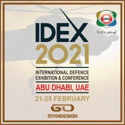 IDEX 2021 – International Defence Exhibition - GO STAND DESIGN