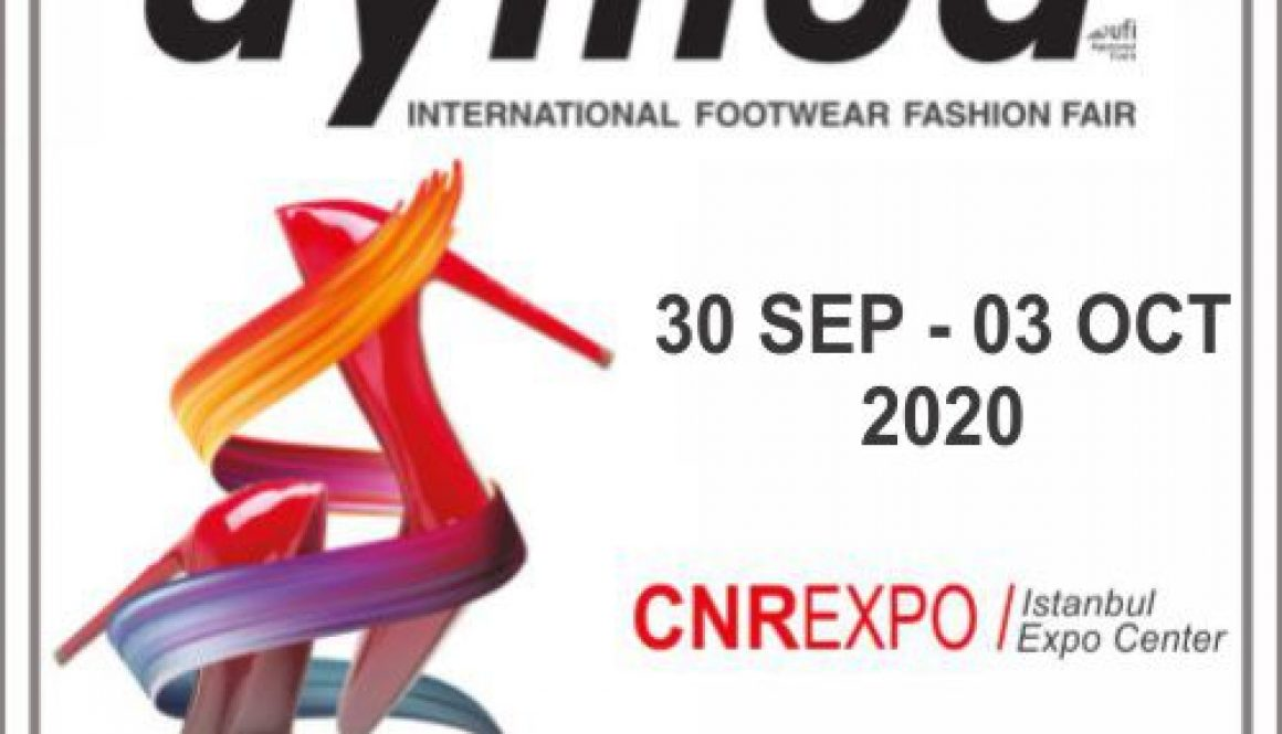 AYMOD 2020 Istanbul Exhibition Banner