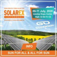 Solarex 2020 Exhibition Istanbul Banner