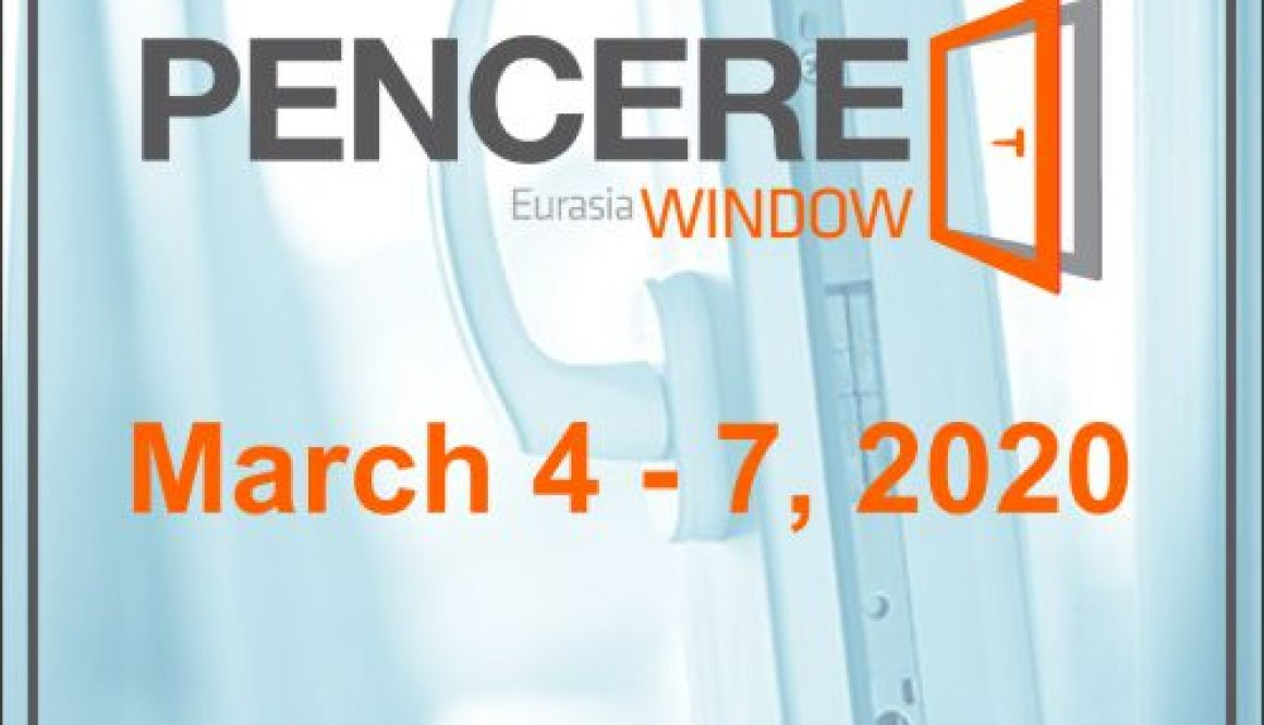 Eurasia Window 2020 Exhibition / Pencere Fuarı Istanbul